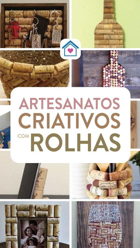 50 ideias lindas de artesanatos com rolhas