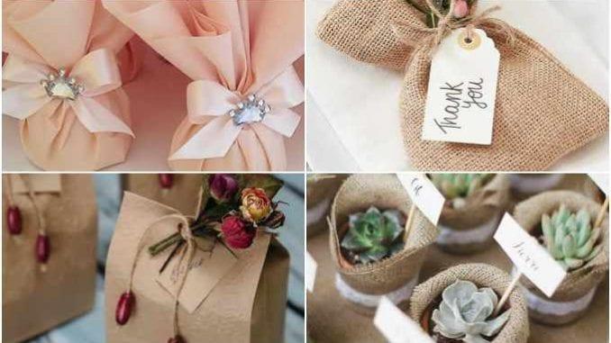 Lembrancinhas lindas para casamentos