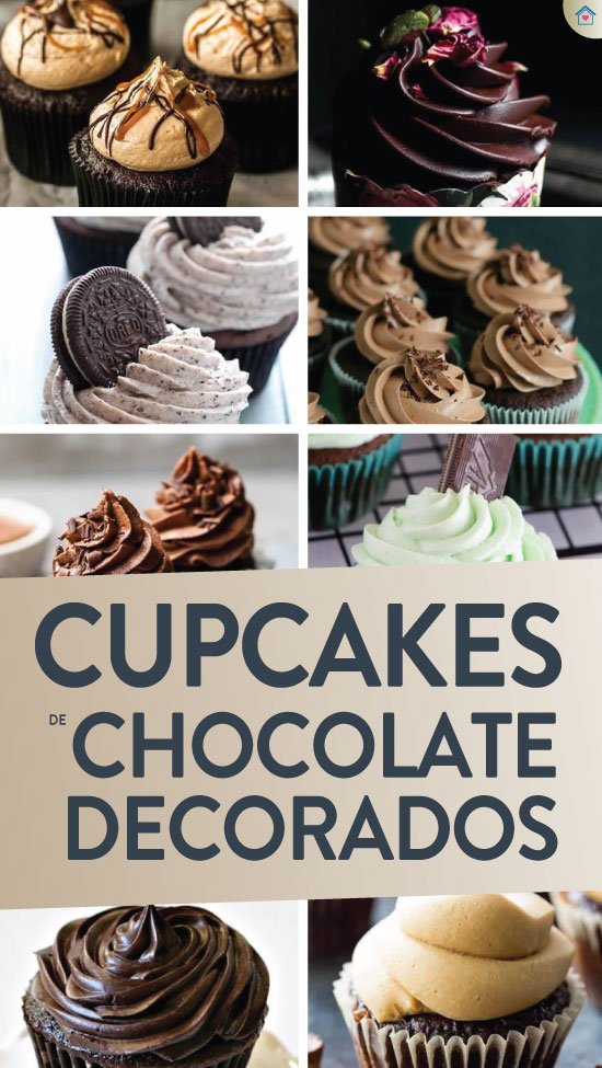 Cupcakes de chocolate - Receita fácil
