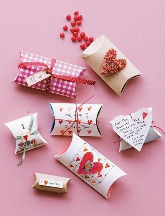 Lembrancinha linda com papel