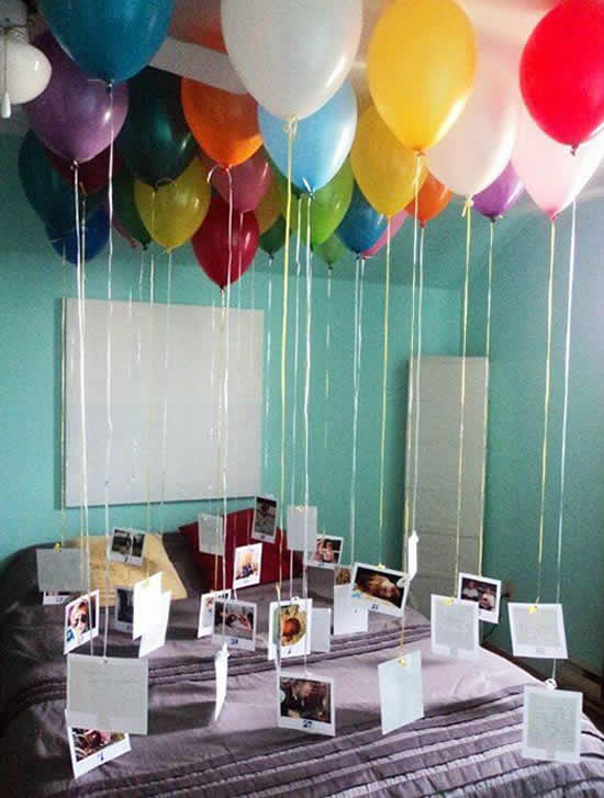 Decoração surpresa para Dia dos Pais