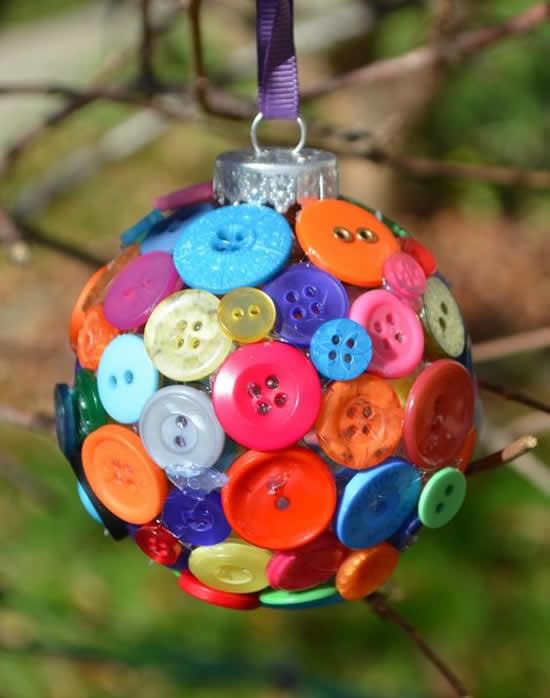 Artesanato com botões