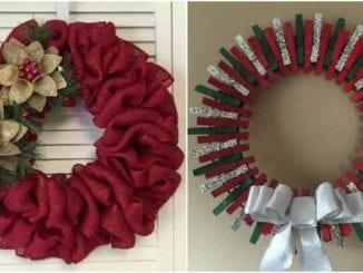 Guirlandas de Natal para decorar a casa
