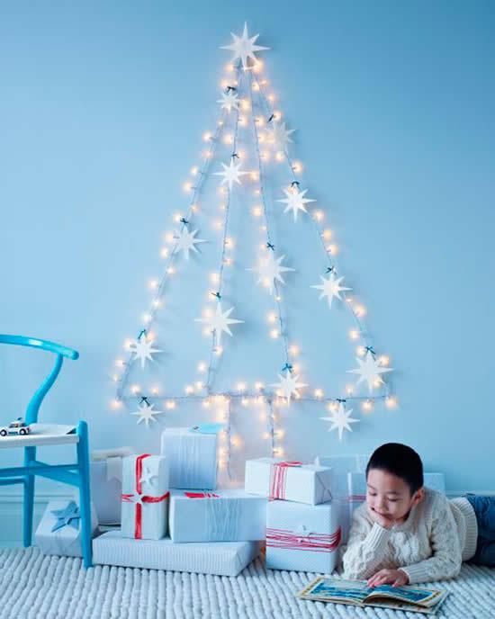 Árvore de Natal linda para decoração