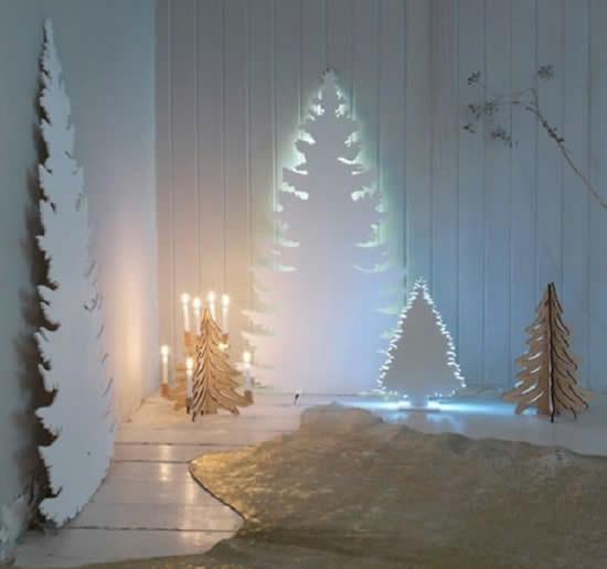 Árvore de Natal super diferente para decoração