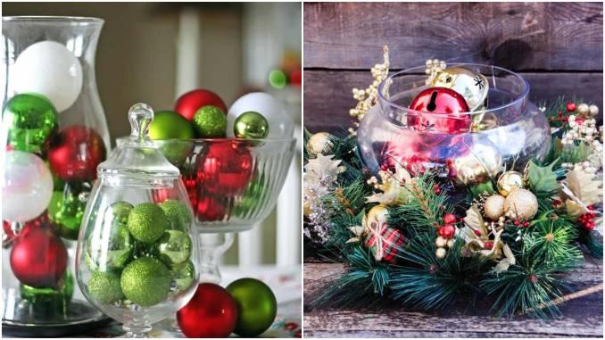 20 centros de mesa para decoração de Natal