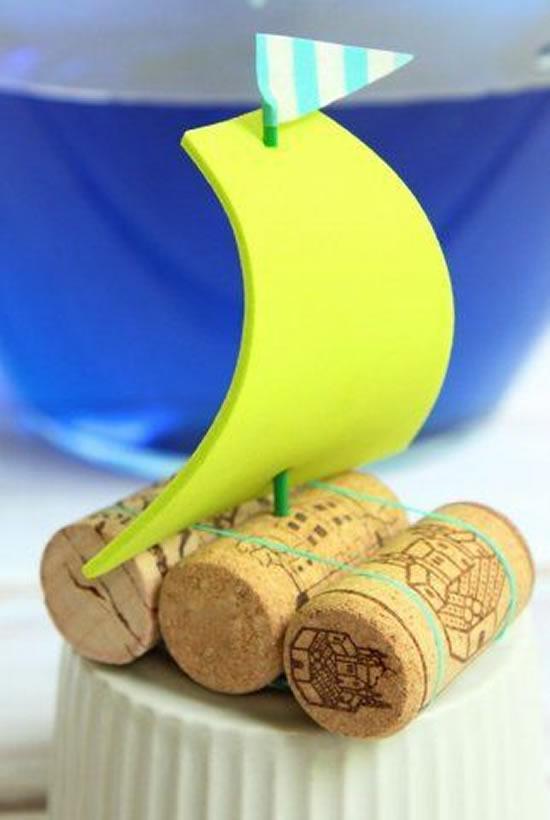 Brinquedos lindos com reciclagem