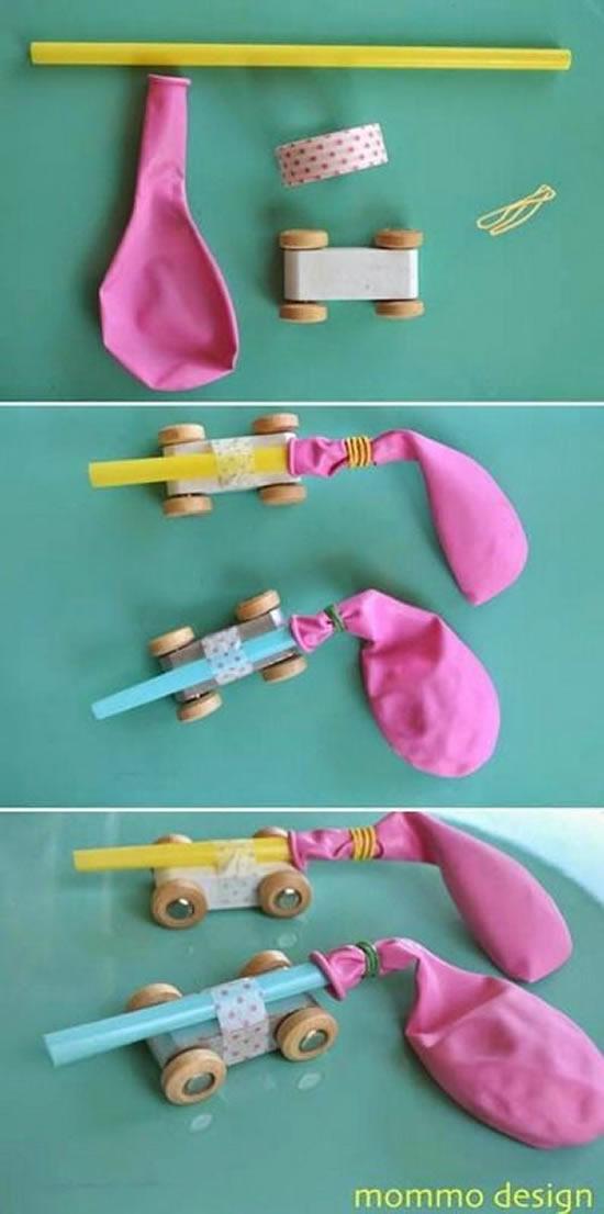 Lindos brinquedos com reciclagem