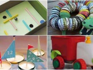 Brinquedos com Reciclagem