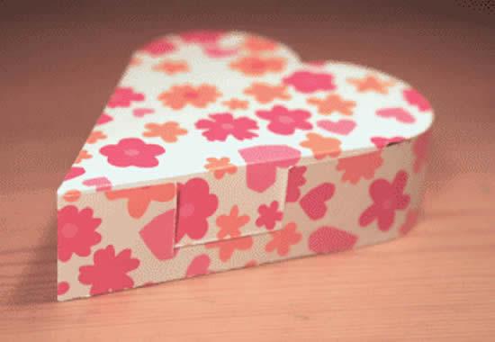 Lindos moldes para caixinhas de papel