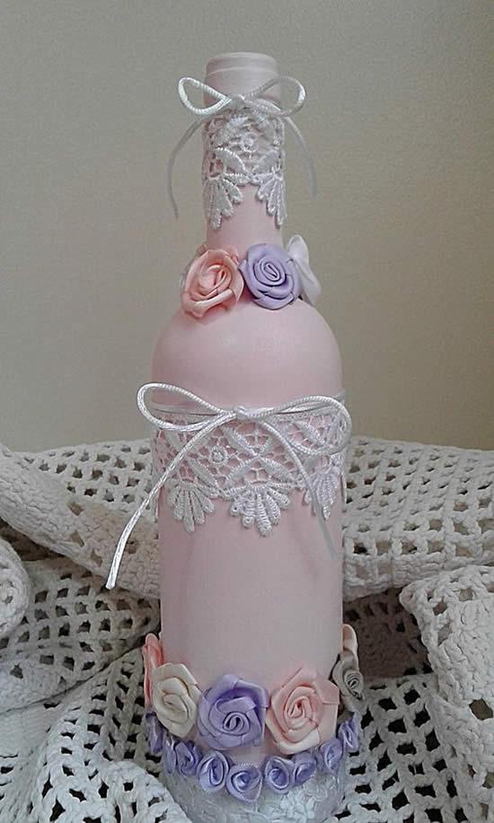 Dicas para fazer garrafas decoradas