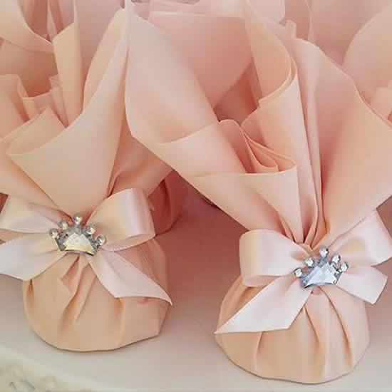 Lembrancinhas com sacolinhas para casamentos