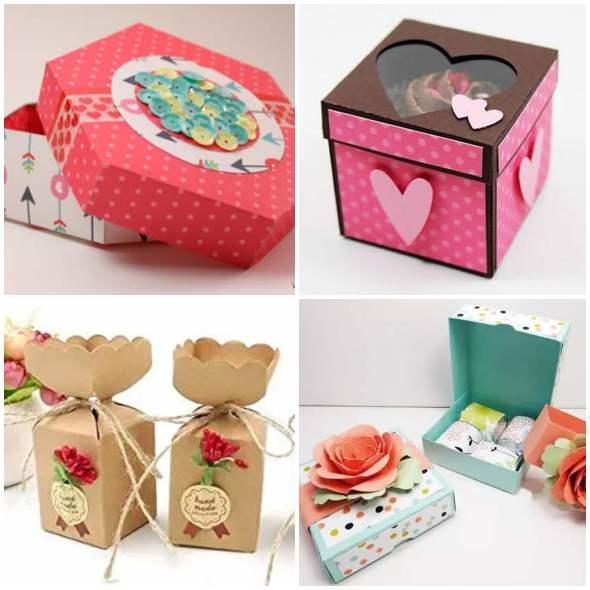 10 caixinhas de papel com moldes fáceis