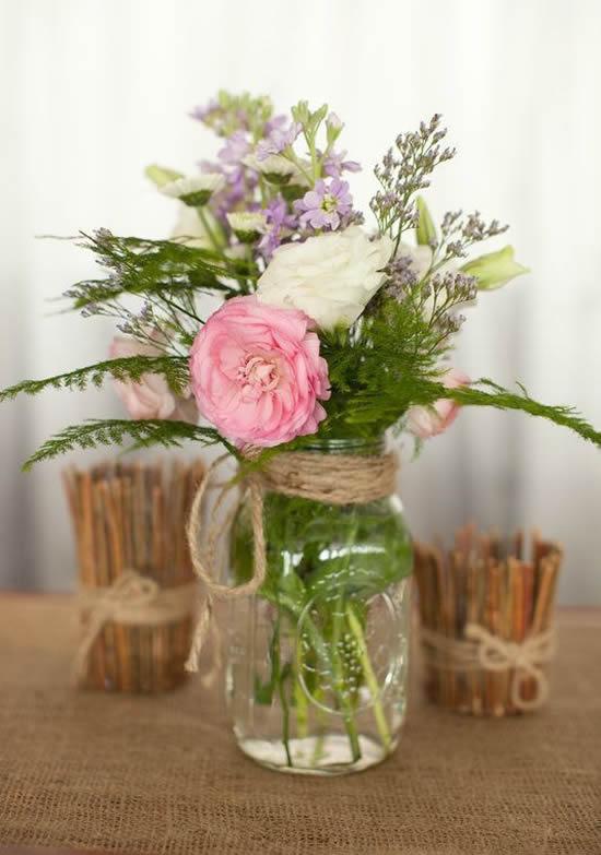 Lindos arranjos de flores