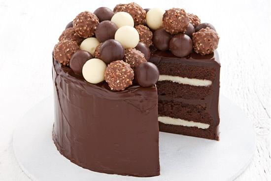 Bolo lindo de chocolate