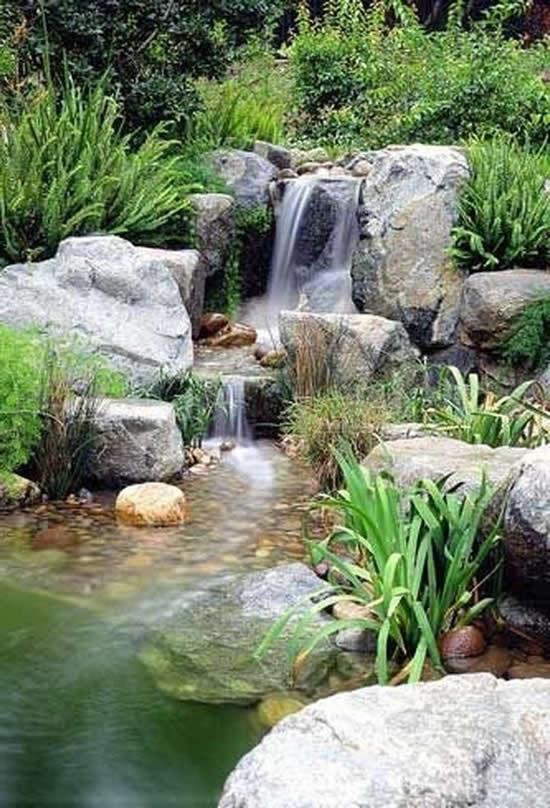 Lago perfeito para o jardim