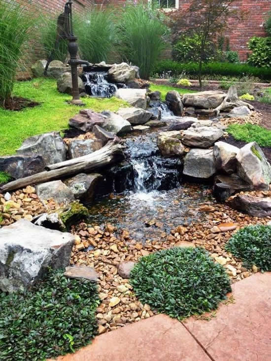 Lago para jardim