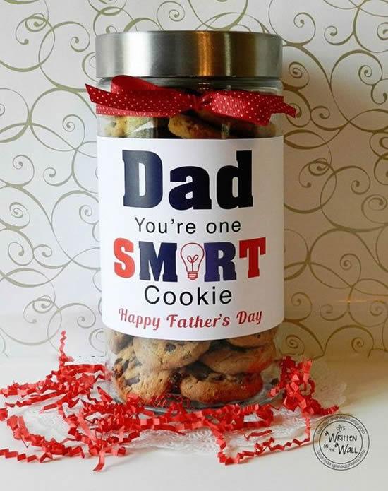 Use potes de vidro para lembrancinhas de Dia dos Pais