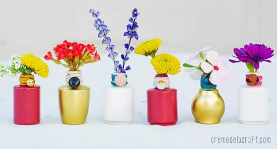 Ideias para reaproveitar vidrinhos de esmalte