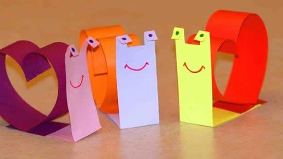 Atividades com papel para crianças