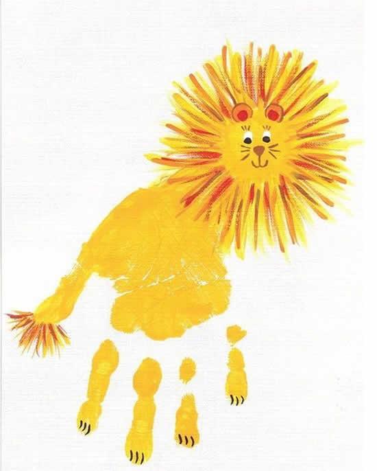 Atividades para educação infantil com pintura