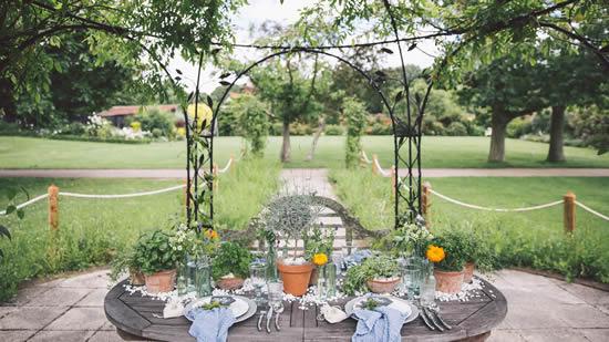 Ideias para decoração para casamento ao ar livre