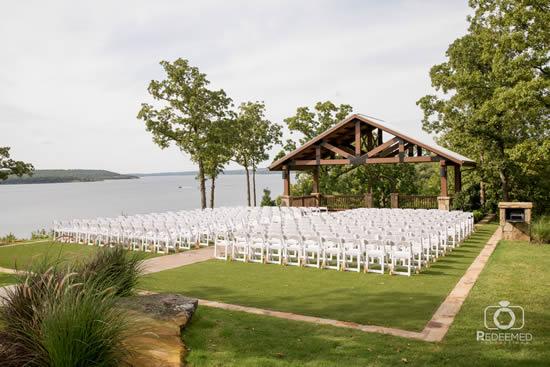 Decoração simples para casamento ao ar livre