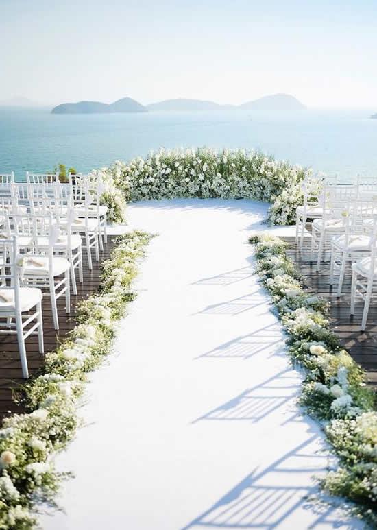Ideias e dicas para decorar casamento na praia