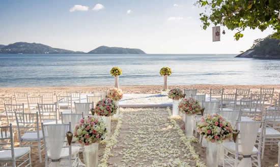 Ideias para decorar casamento na praia