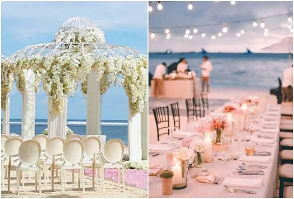 Dicas para decorar casamento na praia