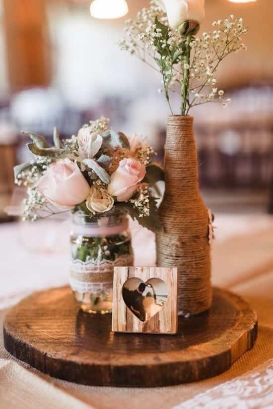 Decoração linda para casamento