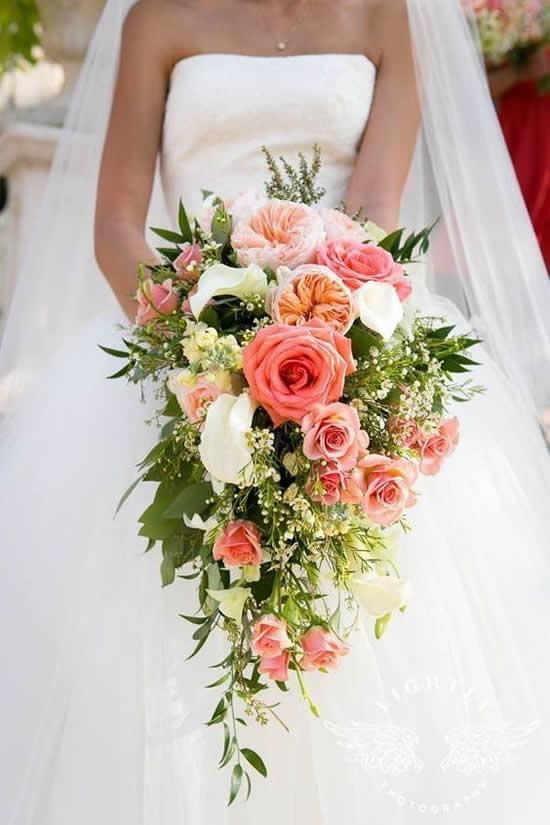 Ideias lindas para buquês de noiva