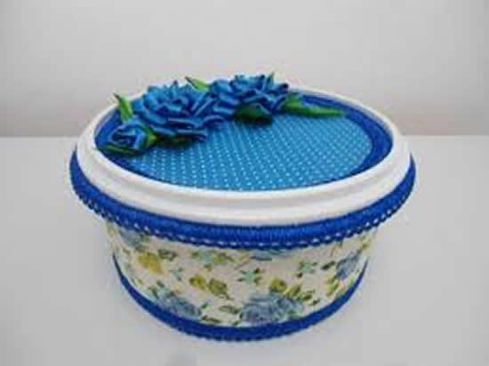 Artesanatos criativos com potes de margarina