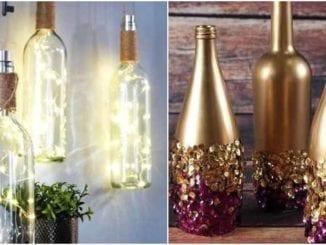 Dicas para decorar com garrafas de vidro