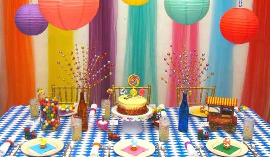 Decoração criativa para Dia das Crianças