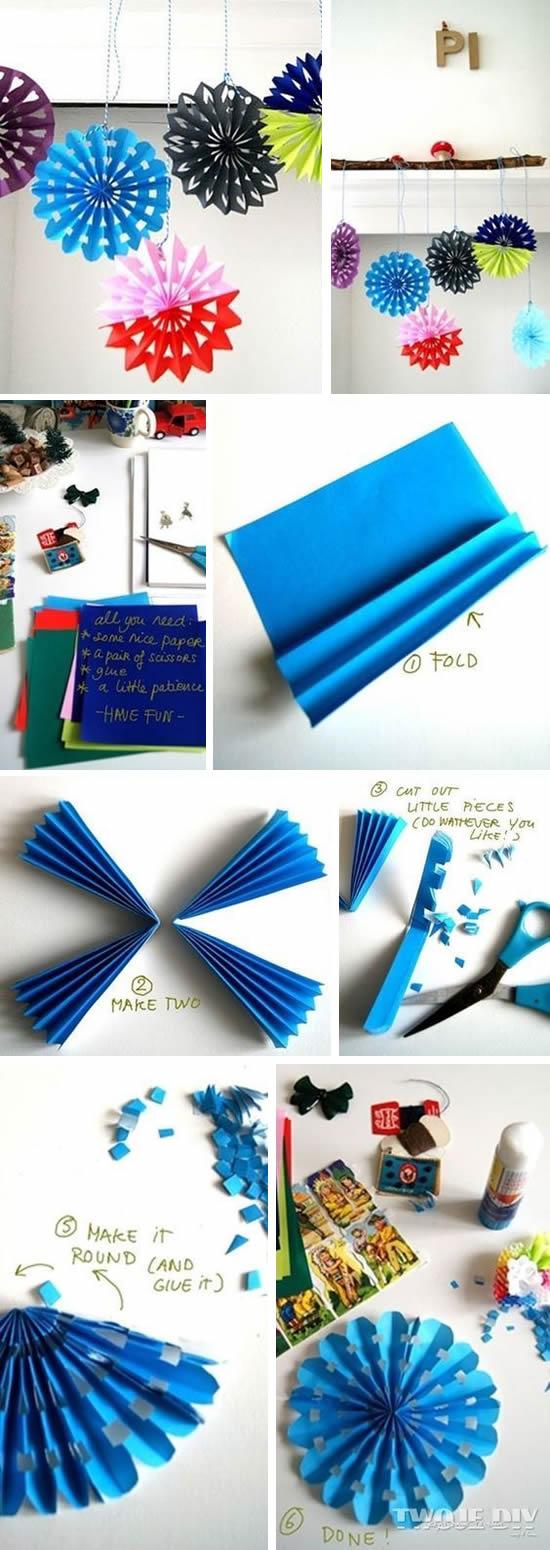 Decoração e enfeites para Dia das Crianças com papel