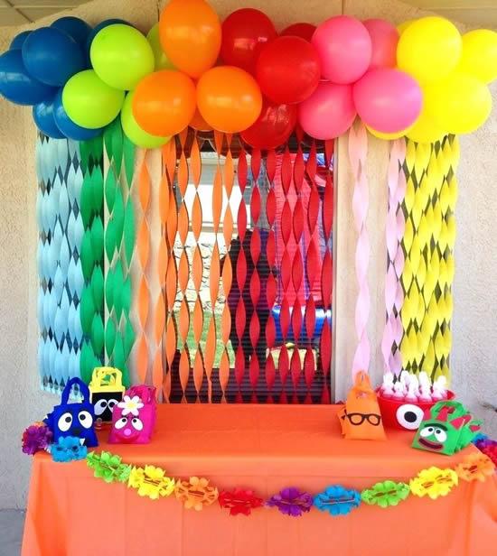 Decoração linda e criativa para o Dia das Crianças