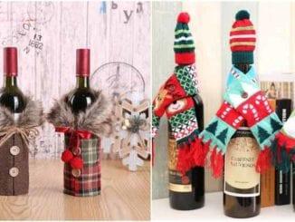 Lindo enfeite com garrafa velha para Natal