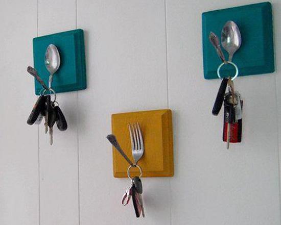 Ideias para fazer com colheres e garfos velhos