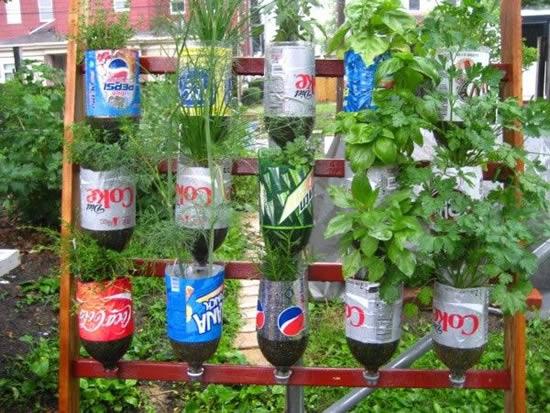 Ideias para fazer horta caseira