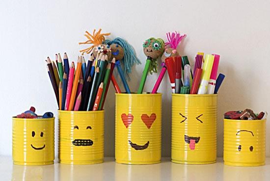 Artesanatos com latas