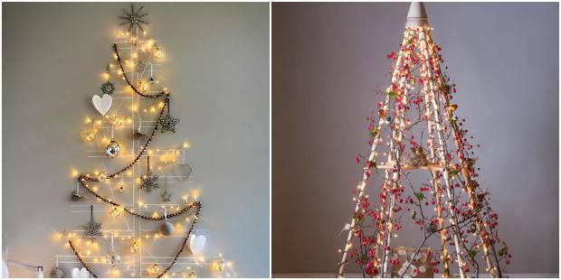 Árvores de Natal diferentes e inusitadas