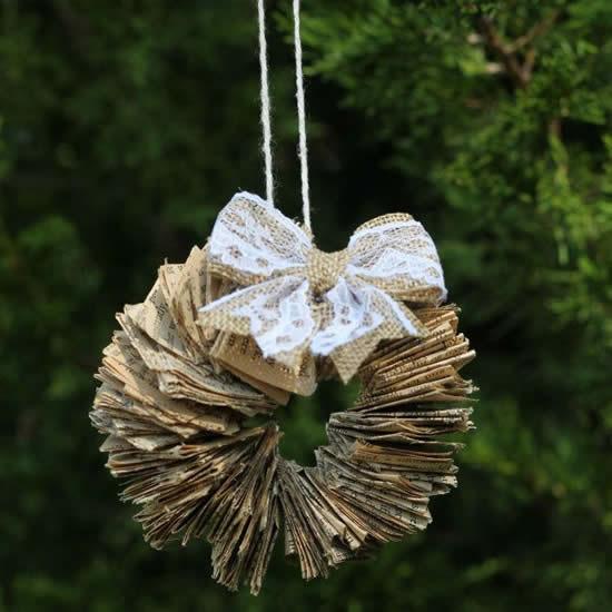 Lindo enfeite para Árvore Natal