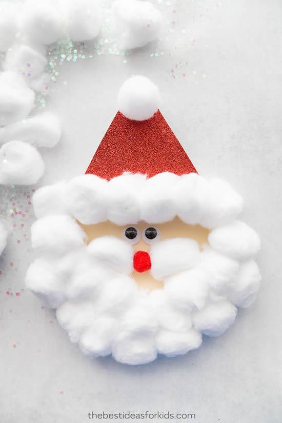 Atividade para fazer com crianças com reciclagem no Natal