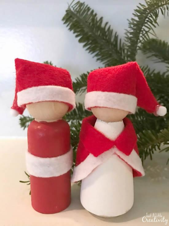 Linda decoração com reciclagem para o Natal