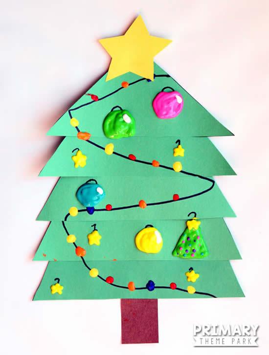 Ideias para fazer lindas árvores natalinas de papel