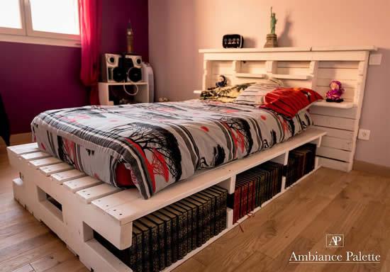 Ideias com cama de pallets