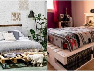 Ideias para fazer cama de pallets