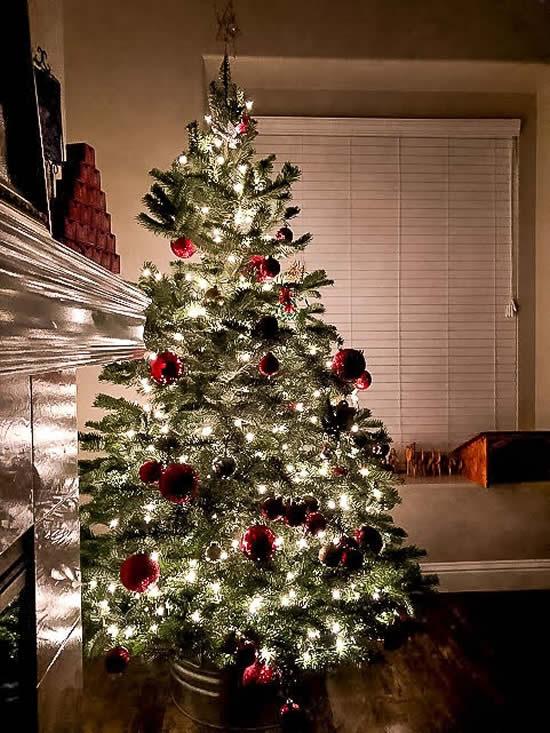 Decoração bonita para Árvore de Natal