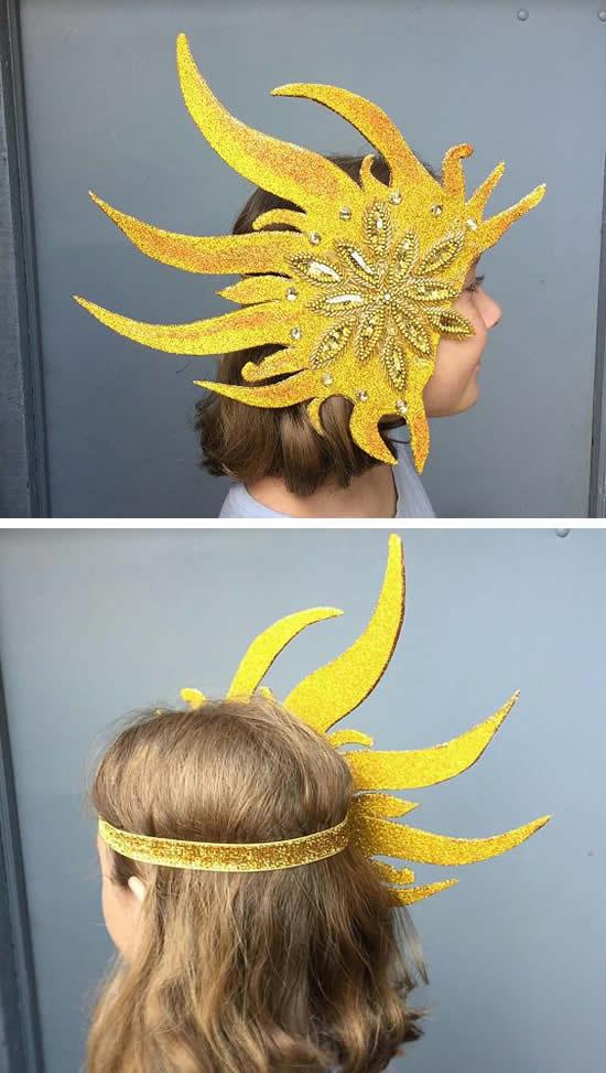 Fantasia de sol para Carnaval